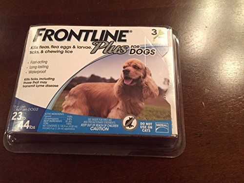 Frontline Plus for Dogs, For Dogs Blue,23-44 lbs. 3 Month Supply by Merial [Pet Supplies]