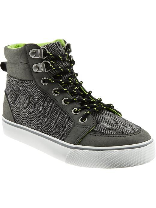 Boys Patterned High-Tops Old Navy $24.94