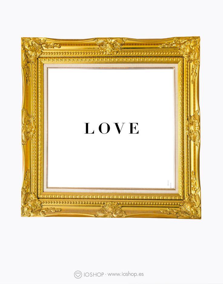 Lámina Love www.ioshop.es