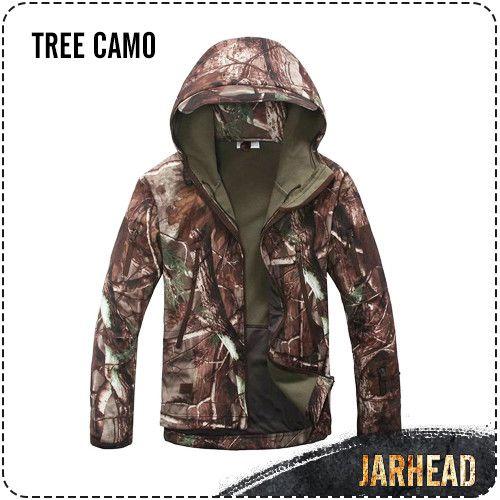 TAD shark skin jacket soft shell jacket waterproof windproof climbing outdoor clothing Men's Outerwear Outdoor coat