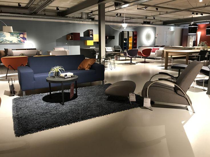 Gelderland bank 6511 en fauteuil 5775 design Jan des Bouvrie @cilo in Zutphen #dutchdesign #gelderlandgroep #jandesbouvrie