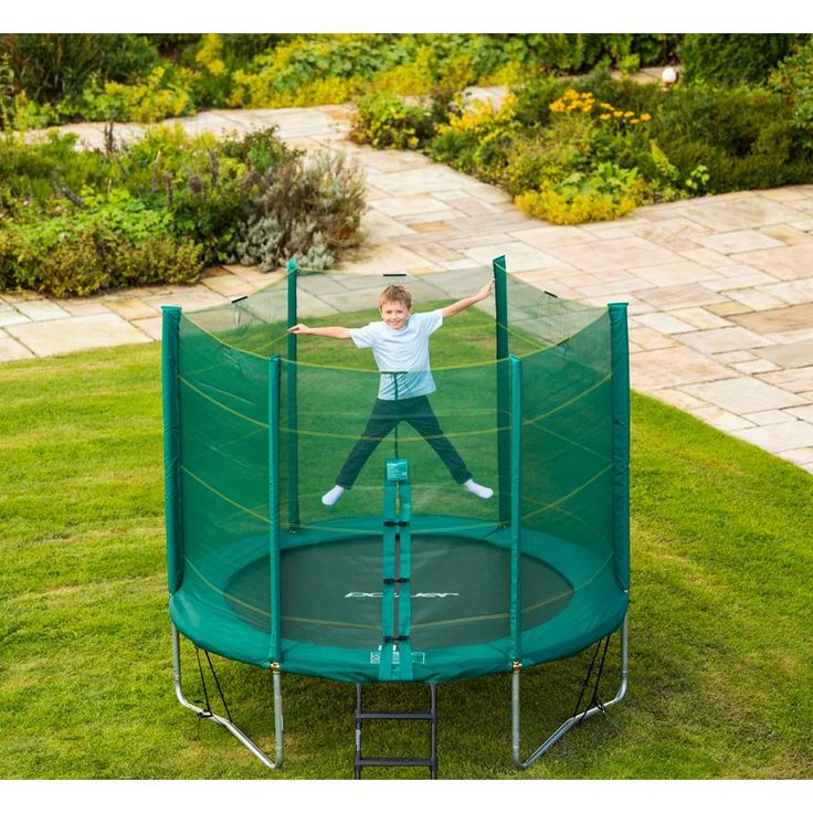 8ft Trampoline with Enclosure image-1