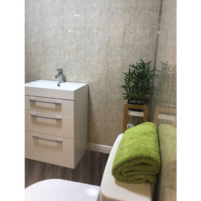 granite beige marble 5mm bathroom wall panel in 2020