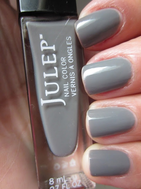 "Julep nail polish in the color ""Meryl""--The perfect neutral, sophisticated grey crème."