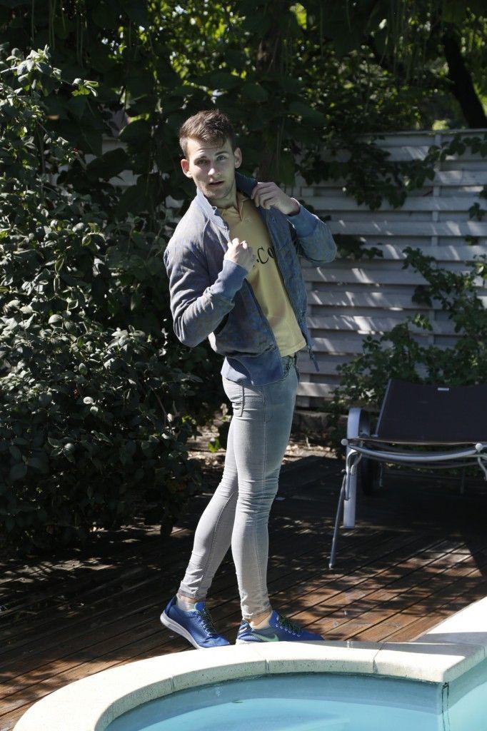 Mens Tight Jeans Fashion