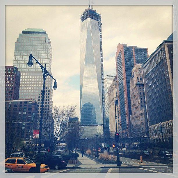 """NY Rise"" reagram from Geoffroy Jonckheere"