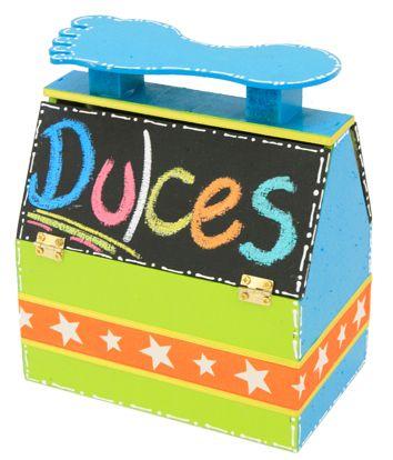 Dulcero para fiestas infantiles / Pintura para pizarrón / Regalo para niños