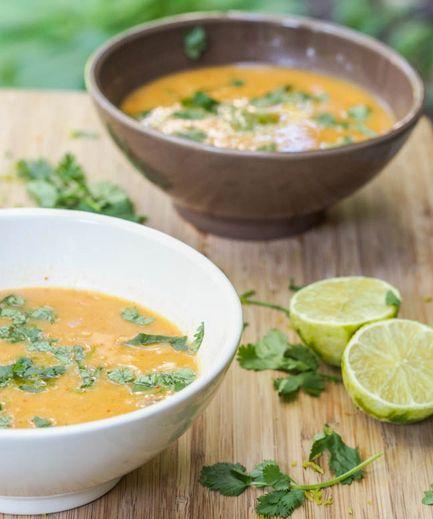 Sopa de lentejas receta de cocina vegana for Cocina vegana gourmet