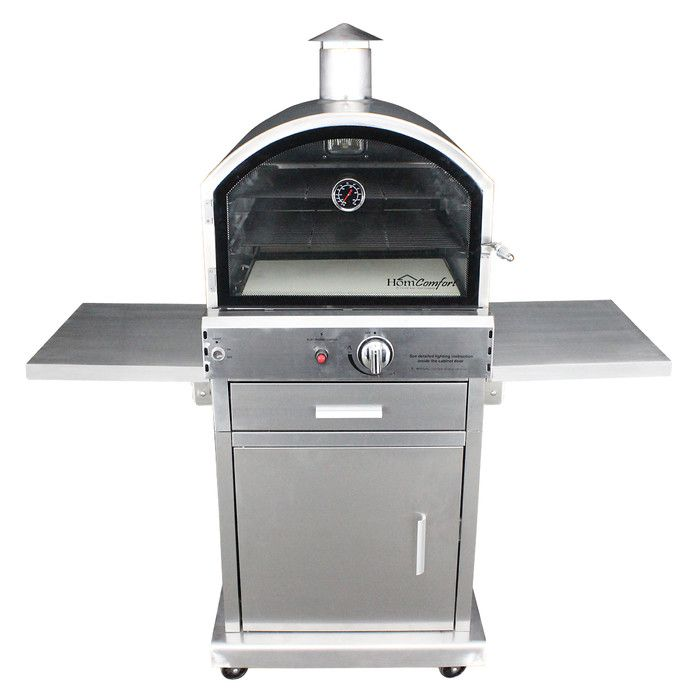 HomComfort Propane Pizza Oven & Reviews | Wayfair