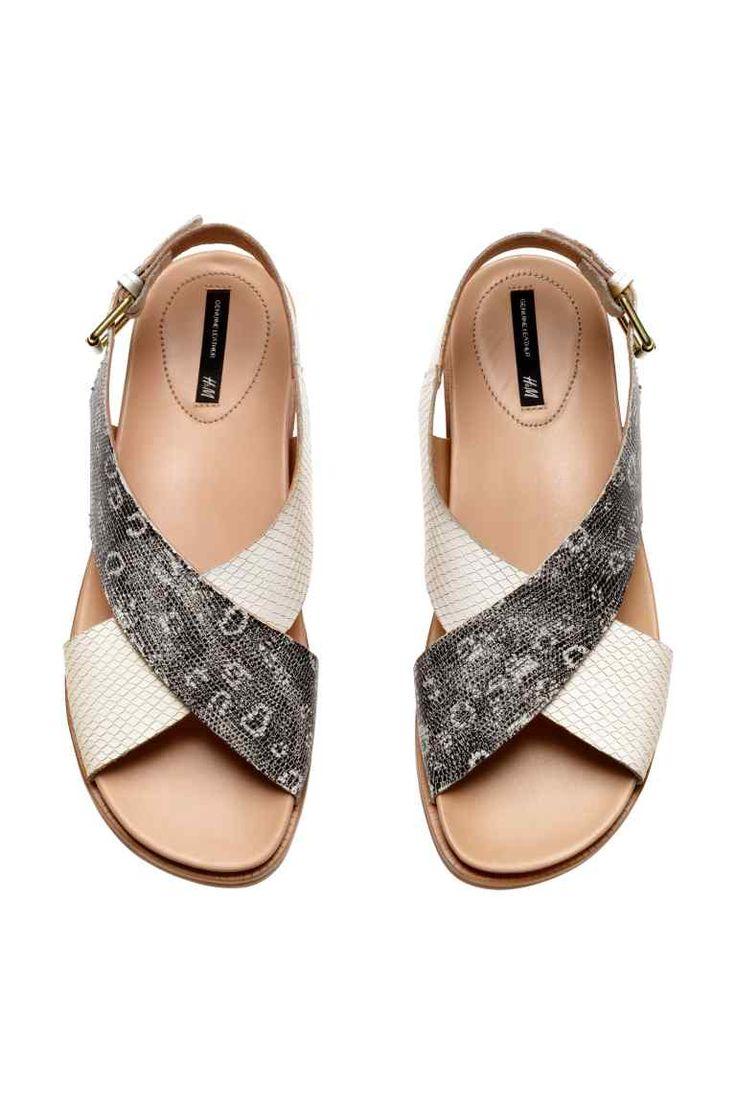 Sandalias de piel | H&M 50€