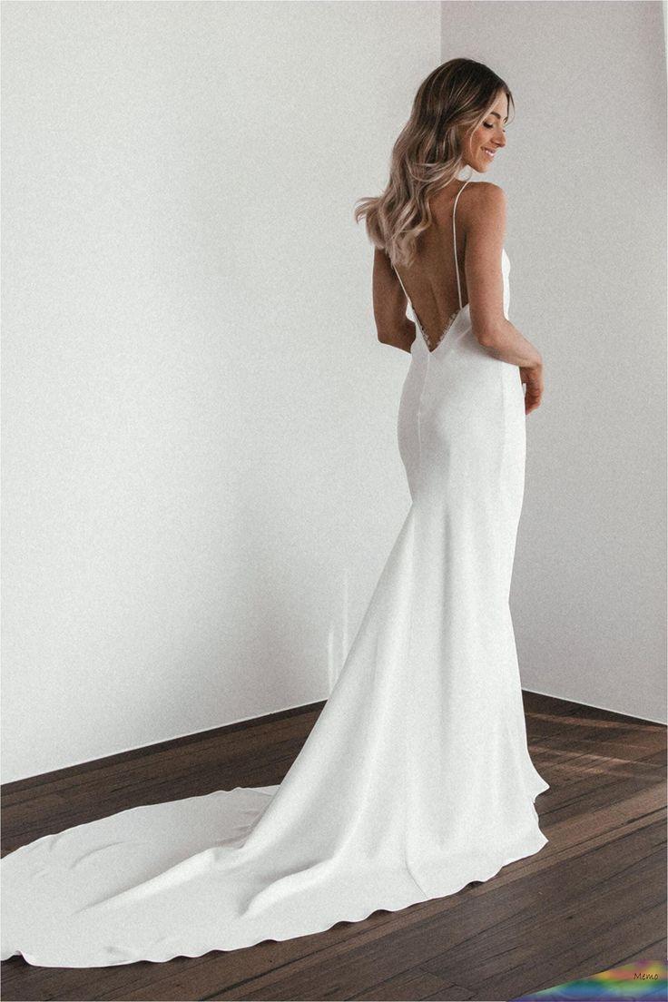 Apr 24, 2020 Summer Gown Silk Wedding Dress Grace