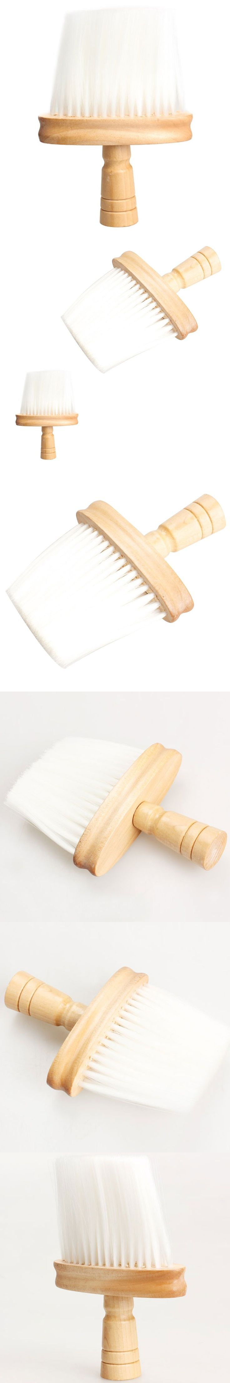 Professional Soft Neck Face Hair Brush Barber Hair Clean Brush Salon Cutting Hairdressing Accessory Styling Tools