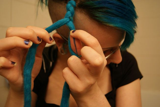 Installing Double Ended Dreads (Two Ways) ∙ How To by GodComplex on Cut Out + Keep
