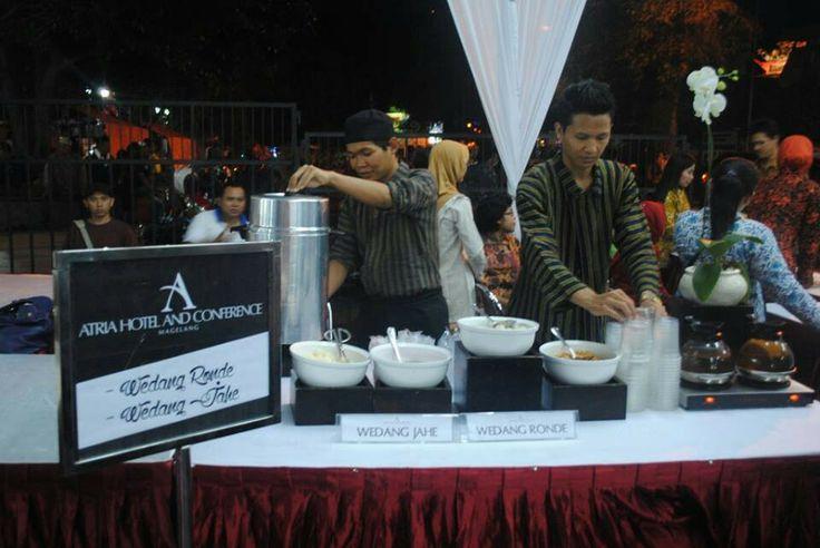 We serve Wedang Jahe @Wayang Seto Performance on HUT Kota Magelang 1108