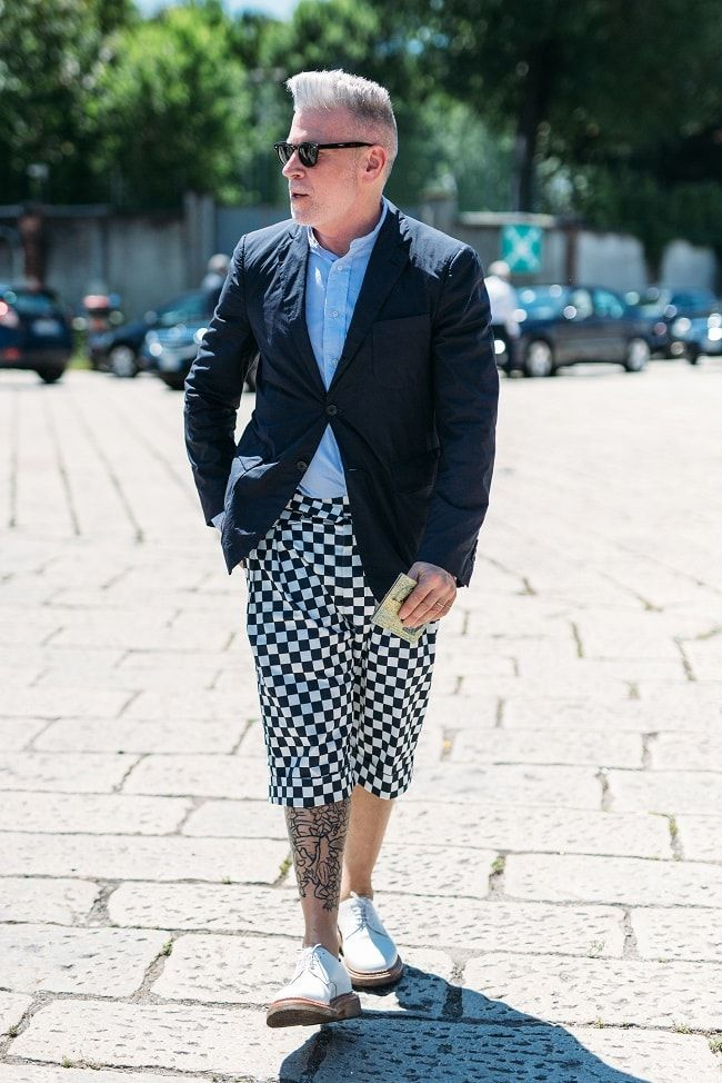 During 2016's edition of Milan Men's Fashion Week we spot Nick Wooster, the…