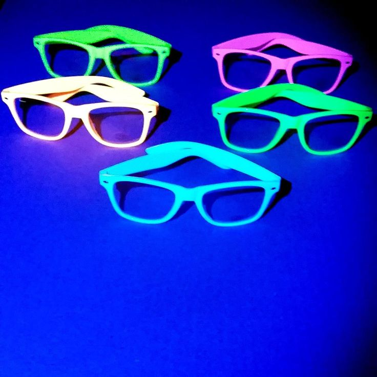 glowpaint - Neon Party Glasses With Clear Lenses, $12.98 (http://www.glowpaint.com.au/neon-party-glasses-with-clear-lenses/)