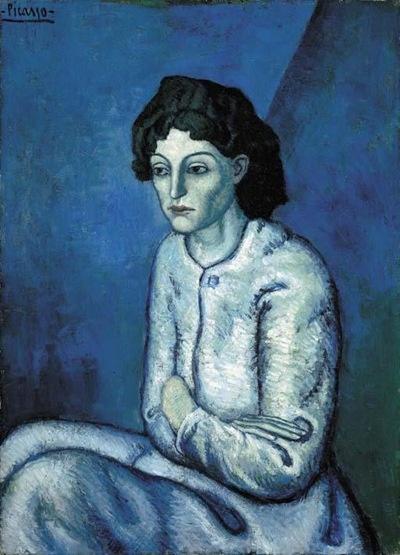 - Femme aux Bras Croisés, obra de Pablo Picasso