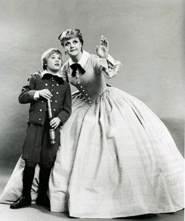 """Angela Lansbury as Anna Leonowens in """"The King and I"""" (1978) ."""