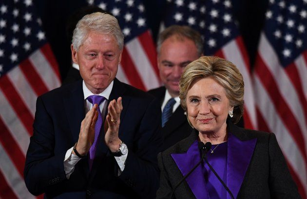 Hillary Clinton Embodies Unity In A Purple Suit At Her Concession Speech | Huffington Post