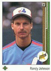 1989 Upper Deck # 25 Randy Johnson (RC) Rookie Card -Montreal Expos / MLB Baseball Card in Protective Display Case! by Upper Deck. $0.99. Check back weekly, there are always new items being added to this awesome site!. Card is shipped in a protective screwdown case to preserve its MINT condition!. This is just one of the 100s of great cards offered on here ... The more singles you buy, the more you save on shipping!. NOTE: Stock Photo Used. Contact seller if there is no image or...