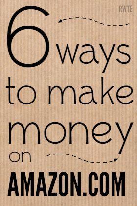 Möchten Sie wissen, wie Sie mit Amazon Geld verdienen können? Hier gibt es 6 W… – Fred Schoen