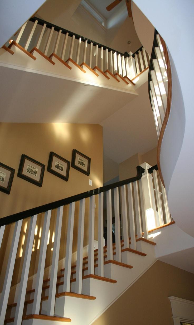 Waterlily Interiors.  Stairway to heaven