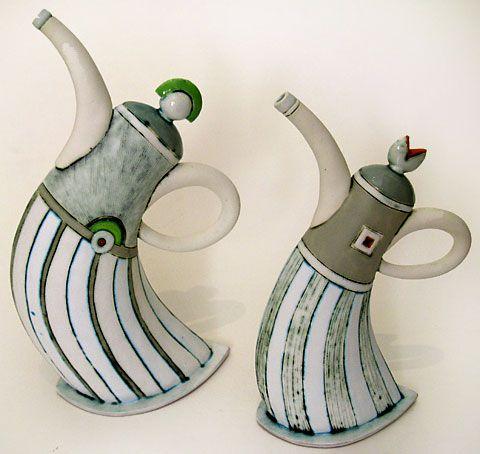 483 best images about Ceramic Pitchers & Tea Pots on Pinterest