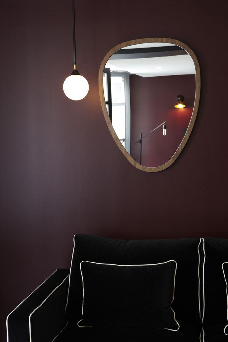 """""""Ovo"""" mirror by Sarah Lavoine"""