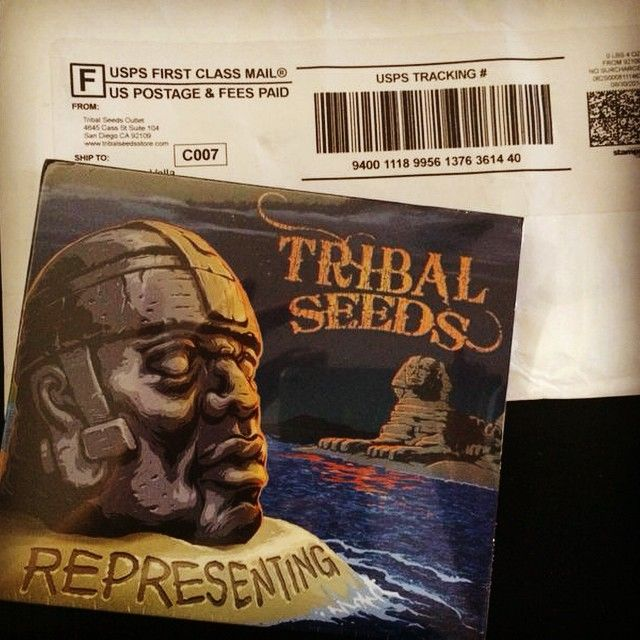 El disco de #TribalSeeds #USA #Reggae #Roots llegó hoy a nuestra oficina de difusión en #Miami! . The album of #TribalSeeds #Reggae #Roots #USA arrive today at our Miami office. so you can listen it on our reggae & #dub rotation from all the world! thanks for sending us your music #indie #radio #music #station #alternative #reggae #dub #album