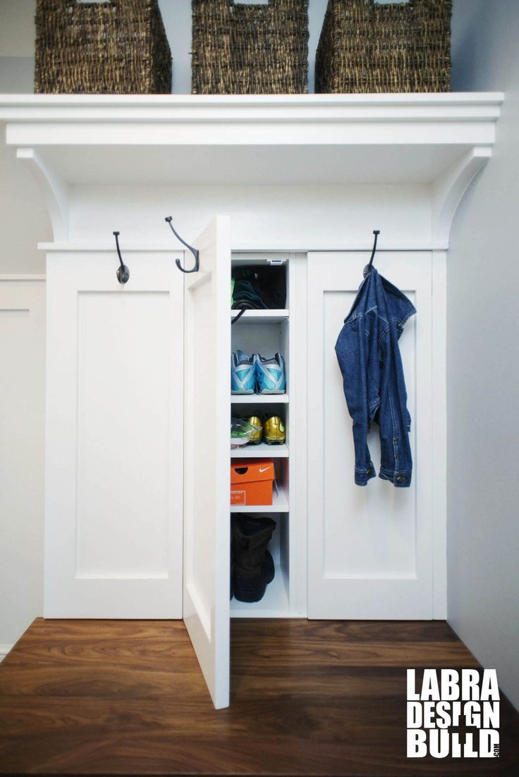 Mudroom Hidden Storage : Best images about mud laundry rooms on pinterest