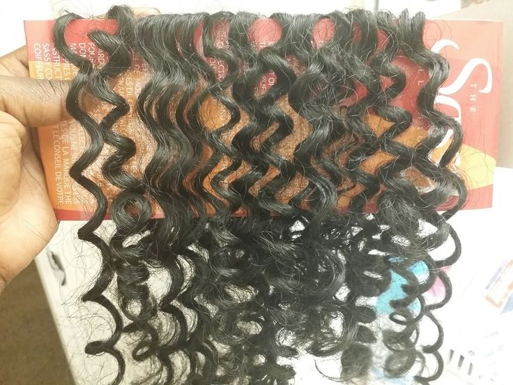Curling Kanekalon Hair with Perm Rods