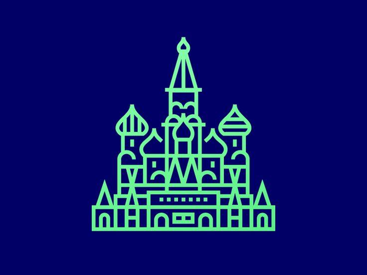 Cathedral icon by Evgeniy Artsebasov