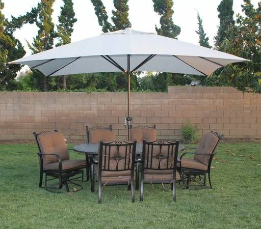 X Large 11x8 Ft Woven Granite Olefin Fabric Canopy Umbrella   $160 (san  Marcos) PATIO UMBRELLA Http://sandiego.craigslist.org/nsd/fuo/4491084356.html  I Have ...