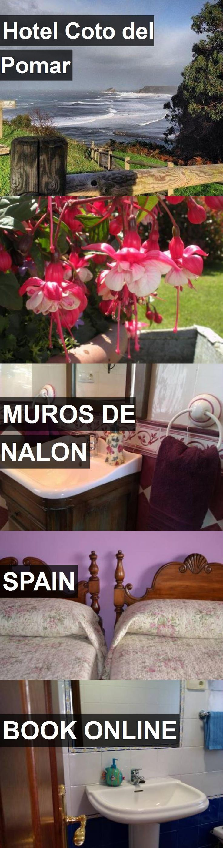 Hotel Coto del Pomar in Muros de Nalon, Spain. For more information, photos, reviews and best prices please follow the link. #Spain #MurosdeNalon #travel #vacation #hotel