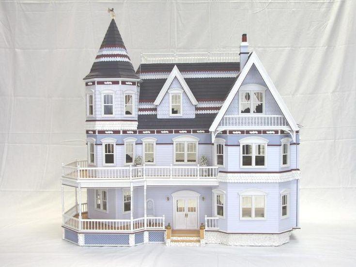 Queen Anne Miniature Dollhouse Queen Anne Dollhouse