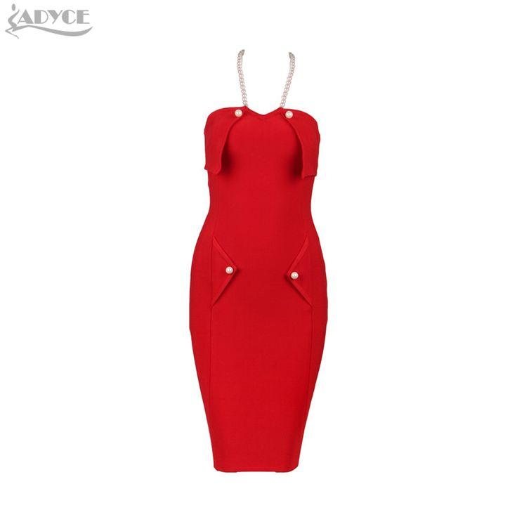 ==> [Free Shipping] Buy Best Celebrity Runway Bandage Dress 2017 Winter Dress Luxury Handmade Beading Halter Off-shoulder sleeveless Sexy Women Bodycon Dress Online with LOWEST Price | 32784937991