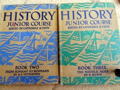 History Books -       Old School Reading Books