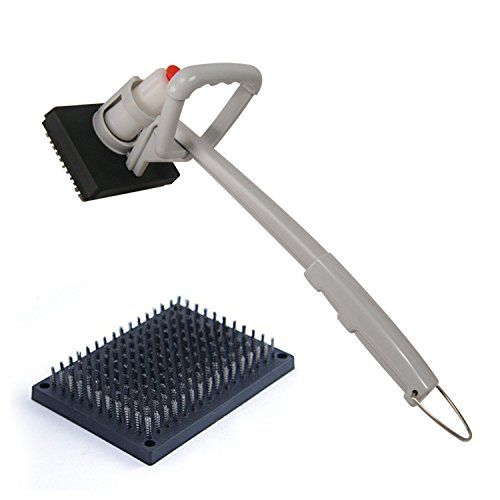 OUTXPRO BBQ Steam Cleaning Brush with Scraper for Gas and... http://www.amazon.com/dp/B00VCWC1EI/ref=cm_sw_r_pi_dp_f2Vnxb1YC6N13