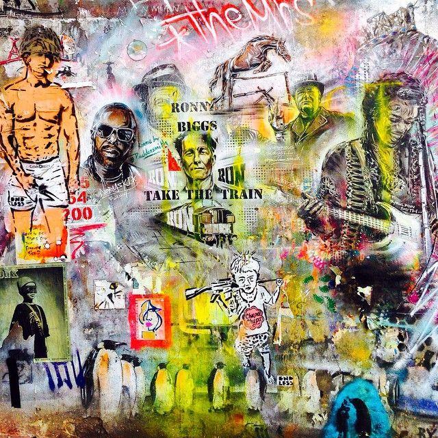 This is #streetart in #Shoreditch. You wouldn't know it's so good! Get the #Kooky #London #App http://bit.ly/11XgicP #ig_London #igLondon #London_only #UK #England #English #British #quirky #weird #photoftheday #photography #picoftheday #igerslondon #lovelondon #timeoutlondon #instalondon #londonslovinit #mylondon #graffiti #art #stencil #Hendrix #Bricklane #EastLondon #Padgram