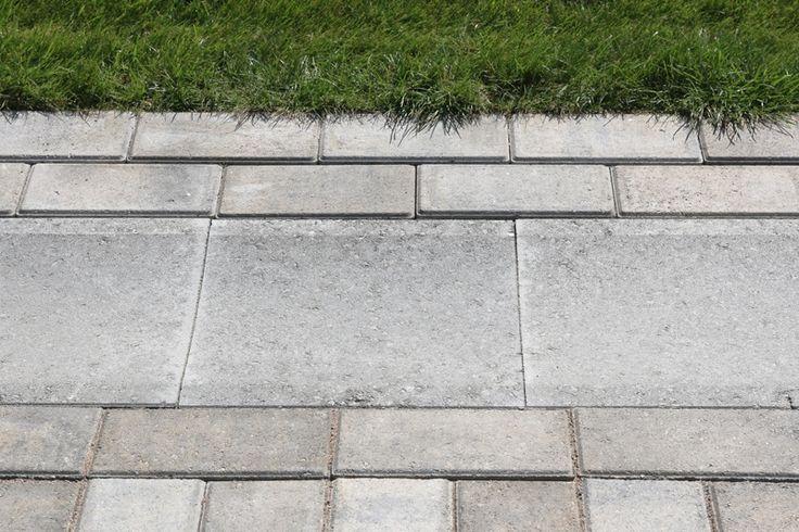 Vesikouru  Betoninen kourulaatta soveltuu pintavesien ohjaukseen kiveyksen reunoissa tai keskellä.