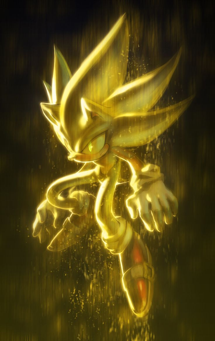 Super Sonic #Cool #Awesome #Wallpaper #Picture #Art