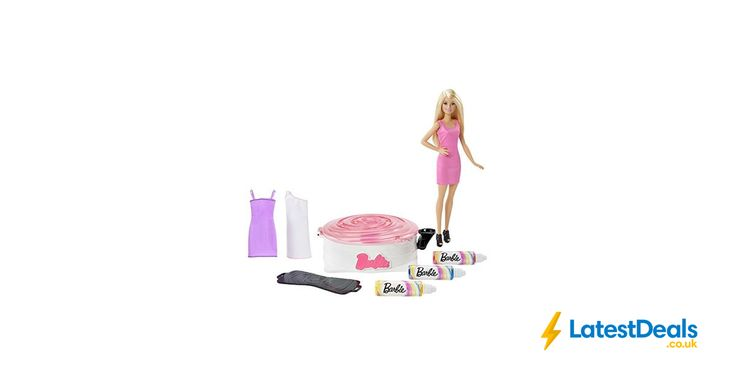 Barbie Spin Art Designer with Doll Playset (Prime Deal), £12.99 at Amazon UK