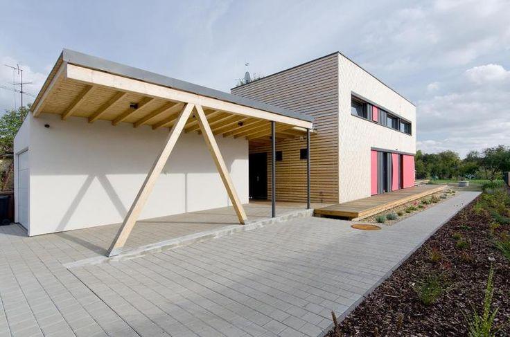 Czech architects Pavel Horák and Radim Oblouk designed this passive house. foto © Martin Zeman