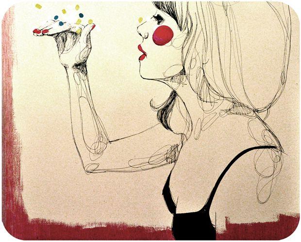 Paula Bonet: Artsy Stuff, Le Art, Eye Gasm, Spanish Illustration, Paula Bonet 2 Jpg 620 499