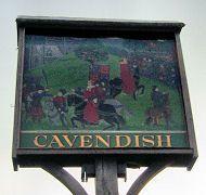 The Cavendish Village Sign