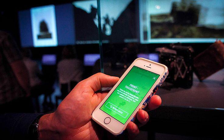 FoMu Shooting Range app - indoor ibeacon notification. Experience an exceptional exhibition with your own smartphone. http://shootingrange.be/en/ | http://www.in10.nl/weblog/2014/07/fomu-shooting-range-app-versterkt-de-beleving-van-eerste-wereldoorlog-tentoonstelling/#