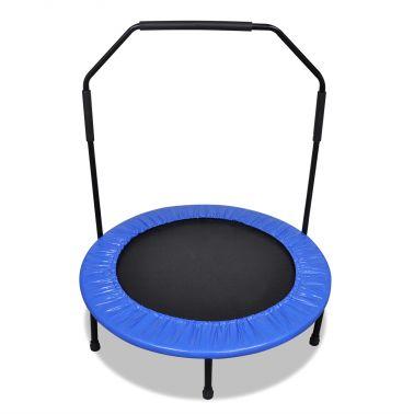 Sammenfoldelig mini trampolin med styr 101 cm[1/5]