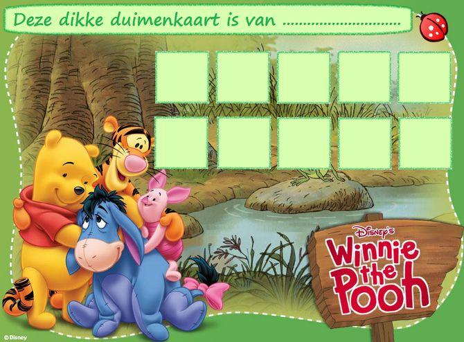 Winnie De Pooh - Website of dikkeduimenkaarten!