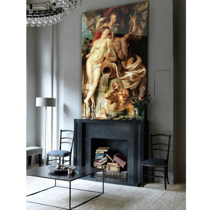 The Union of Earth and Water by the famous Dutch painter Rubens with a funny surpise from Arty Shock! wonenmetlef.nl