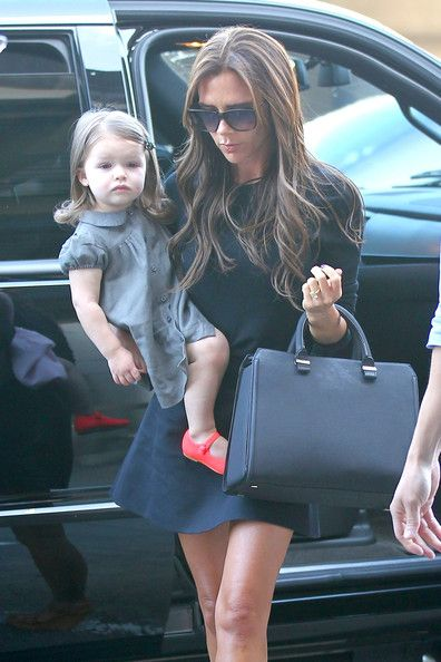 Victoria Beckham - The Beckham Family Prepares to Leave LA